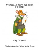 Niky for ever! - STILTON,UN TOPO DAL CURE 