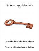 Sanneke Panneke Pannekoek - De kamer voor de koningin 21
