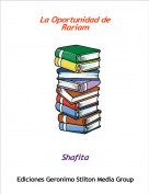 Shafita - La Oportunidad deRariam