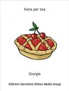 Giorgia - festa per tea