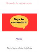 Africa - Records de comentarios