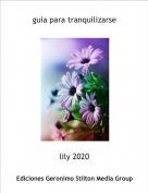 lily 2020 - guia para tranquilizarse