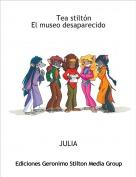 JULIA - Tea stiltón El museo desaparecido