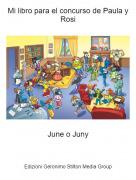 June o Juny - Mi libro para el concurso de Paula y Rosi