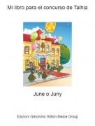 June o Juny - Mi libro para el concurso de Talhia
