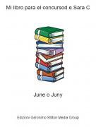 June o Juny - Mi libro para el concursod e Sara C