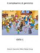 dalila c. - il compleanno di geronimo