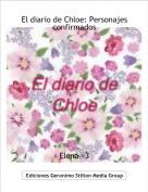 Elena <3 - El diario de Chloe: Personajes confirmados
