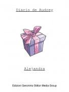 Alejandra - Diario de Audrey