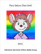 Ami(: - Para Sakura Chan UwU