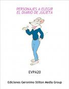 EVPA20 - PERSONAJES A ELEGIREL DIARIO DE JULIETA