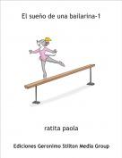 ratita paola - El sueño de una bailarina-1