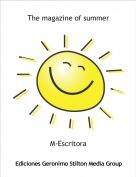 M-Escritora - The magazine of summer