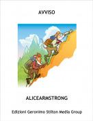 ALICEARMSTRONG - AVVISO