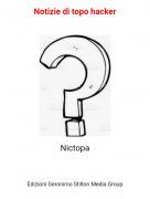 Nictopa - Notizie di topo hacker