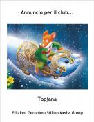 Topjana - Annuncio per il club...
