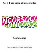 Pachotopina - Per il 3 concorso di lamonnalisa