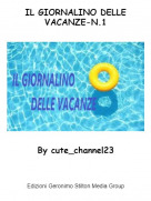 By cute_channel23 - IL GIORNALINO DELLE VACANZE-N.1