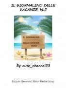 By cute_channel23 - IL GIORNALINO DELLE VACANZE-N.2