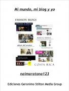 naimaratona123 - Mi mundo, mi blog y yo