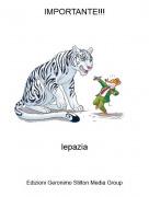 lepazia - IMPORTANTE!!!