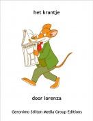 door lorenza - het krantje