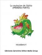nicodancri - La mutacion de Voltio(PRIMERA PARTE)