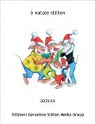 azzura - è natale stilton