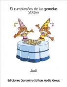 Judi - El cumpleaños de las gemelas Stilton