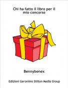 Bennybenex - Chi ha fatto il libro per il mio concorso