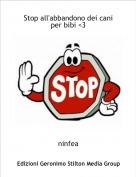 ninfea - Stop all'abbandono dei cani per bibi <3