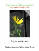 """Topilla Modilla Mia - """"Il giornalino delle meraviglie""""per topolinacricetina"""