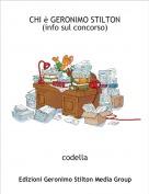 codella - CHI è GERONIMO STILTON                                                           (info sul concorso)