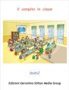 dodo2 - il  compito  in  classe