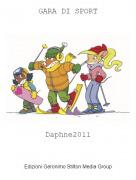 Daphne2011 - GARA DI SPORT