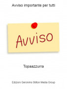 Topaazzurra - Avviso importante per tutti