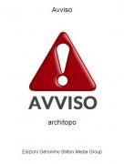 architopo - Avviso