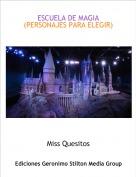 Miss Quesitos - ESCUELA DE MAGIA(PERSONAJES PARA ELEGIR)