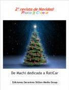 De Machi dedicada a RatiCar - 2º revista de Navidad: Photo & Cheese