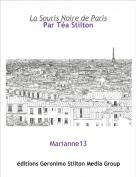 Marianne13 - La Souris Noire de ParisPar Téa Stilton