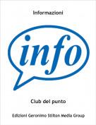 Club del punto - Informazioni