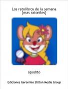 apodito - Los ratolibros de la semana {mas ratoniles}