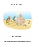RATOFONSO - VIAJE A EJIPTO