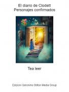 Tea leer - El diario de ClodettPersonajes confirmados