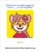 punny - Halloween:consigli,suggerimenti e.....un pò di gossip!