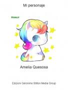 Amelia Quesosa - Mi personaje