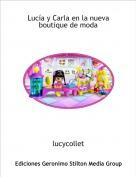 lucycollet - Lucía y Carla en la nuevaboutique de moda