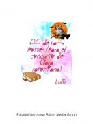 Lulú - EE de Harry Potter (para el concurso de Clara ratoniana)