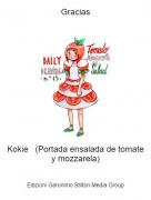 Kokie (Portada ensalada de tomate y mozzarela) - Gracias