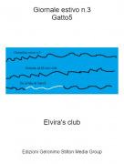 Elvira's club - Giornale estivo n.3Gatto5